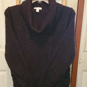 New York and Company shimmery cowneck sweater
